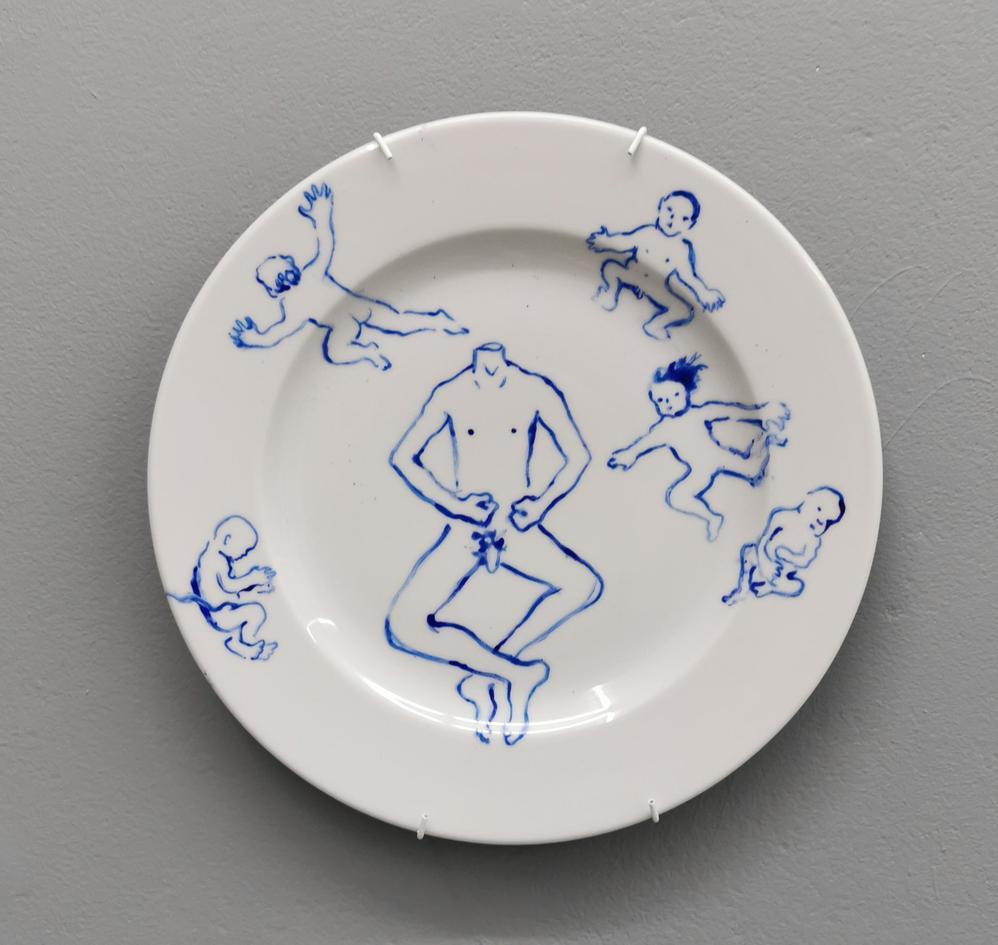 No title, dinner plate 03