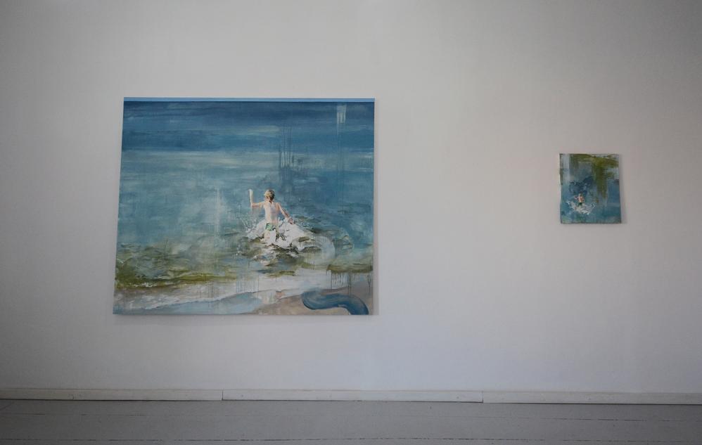 """exhibition view 7   """"Reflection"""" Kolonia Artystów , Gdańsk"""