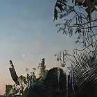 Exotic landscape - part of the diptych