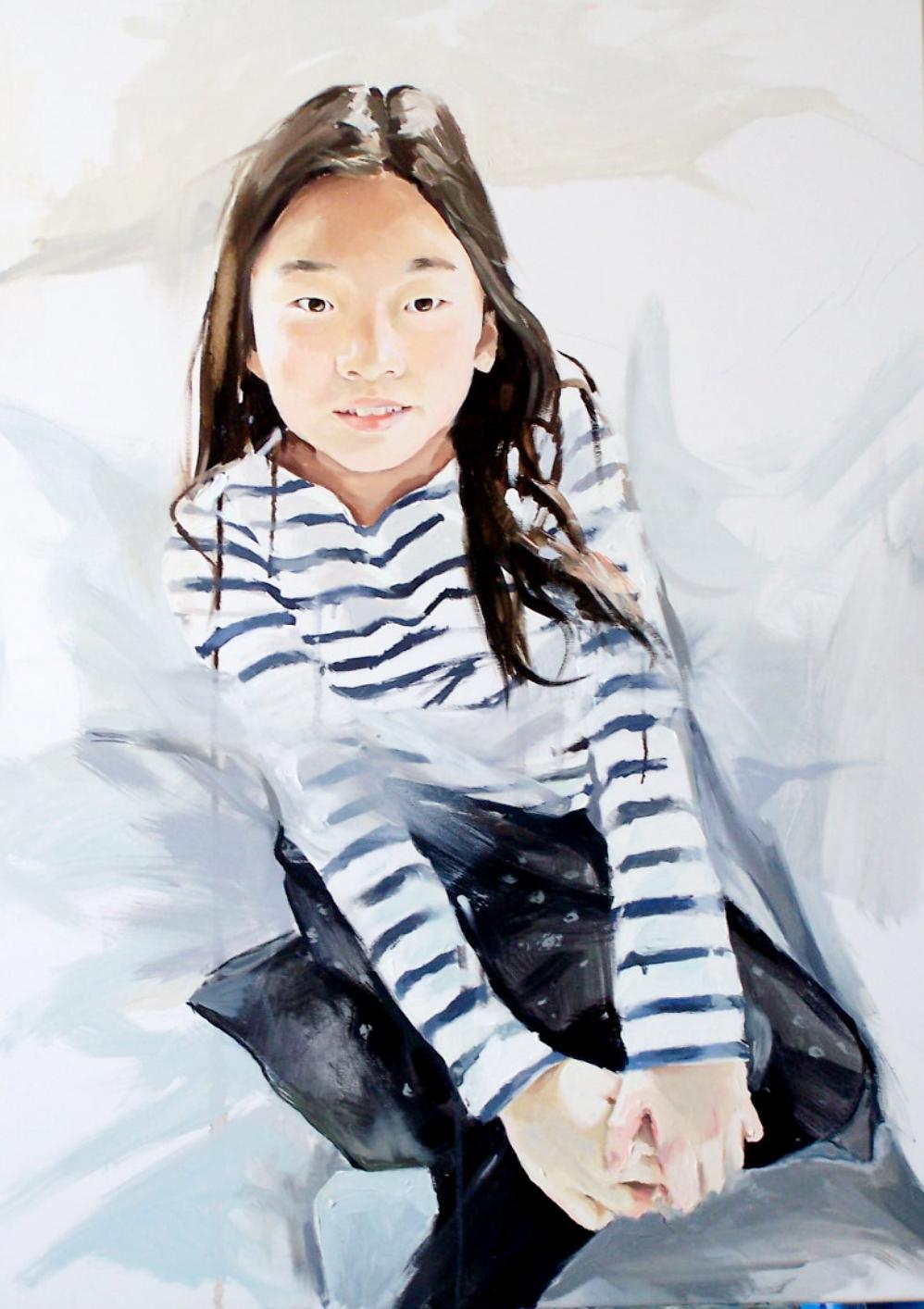portrait of Letje