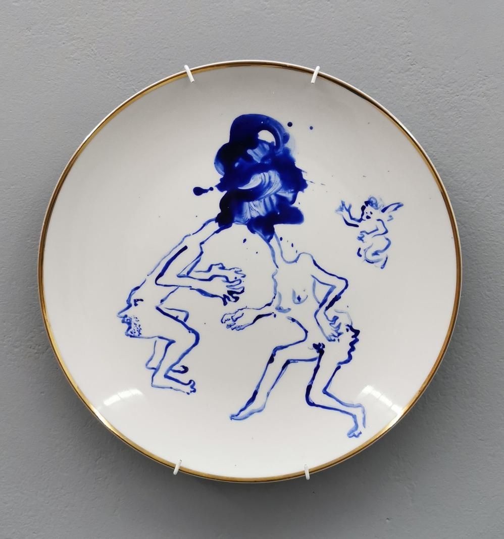 No title, dinner plate 02