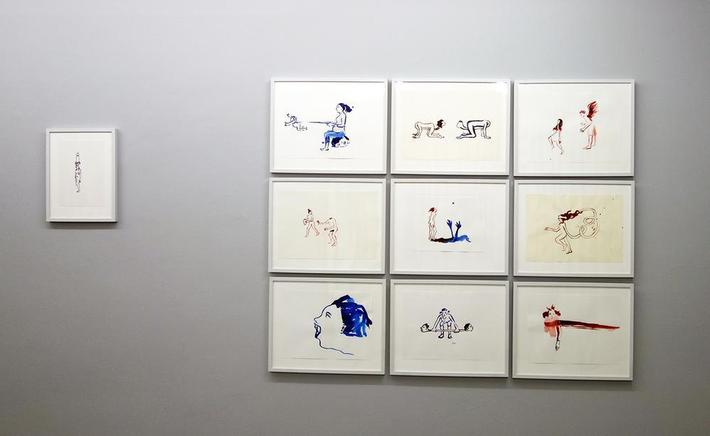 Drawings, exhibition view 1