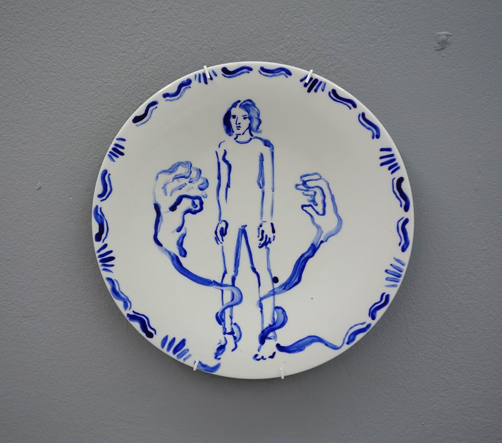 Dinner plate 12