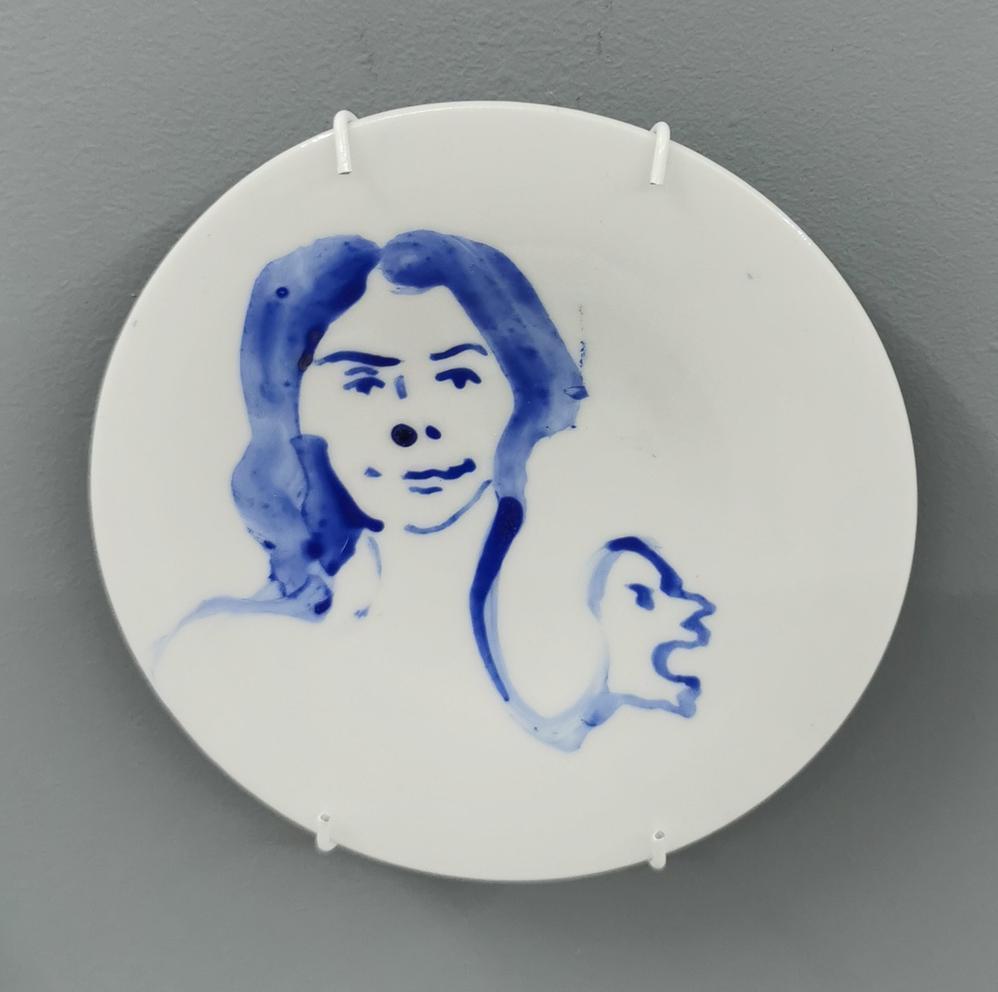 Dessert plate 09