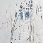 Trees portrait 3 negative